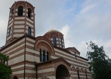 Batumi St Nicholas Church royaltyfria foton