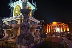 Batumi statyer Arkivfoton