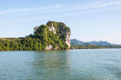 Batupute mountian in andaman sea Stock Photos