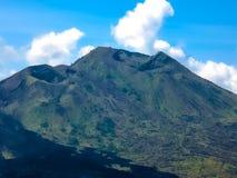 Batur火山风景在巴厘岛,印度尼西亚的 库存图片