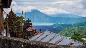 Batur Indonezja Fotografia Royalty Free