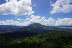 Batur mountain Royalty Free Stock Photography