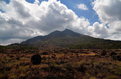 Batur mountain Royalty Free Stock Images