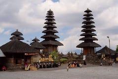 Batur Tempel Stockbild