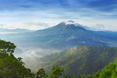 Batur volcano Royalty Free Stock Photo