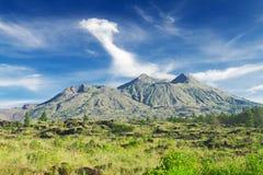 Batur volcano Stock Images