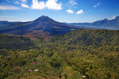 Batur volcano Royalty Free Stock Images