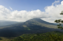 Batur Volcano. Is located in north east Bali. Batur is one of the most impressive calderas in the world Stock Photography