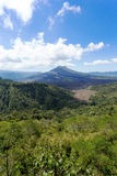 Batur volcano and Agung mountain, Bali Stock Image