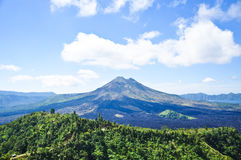 Batur volcano Bali, Indonesia Royalty Free Stock Photography