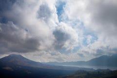 Batur Volcano in Indonesia, Bali Stock Photography