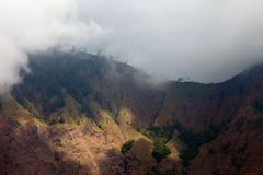 Batur Volcano in Indonesia, Bali Royalty Free Stock Image