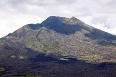 Batur volcano landscape Royalty Free Stock Photography