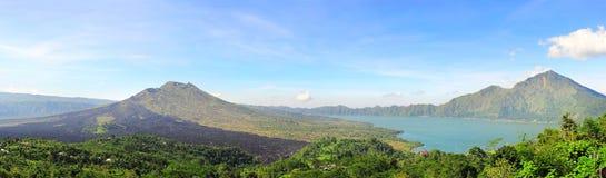 Batur volcano Stock Photos