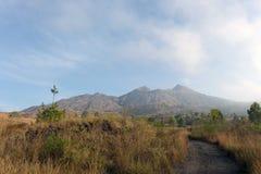 Batur wulkan na Bali wyspie Obrazy Royalty Free