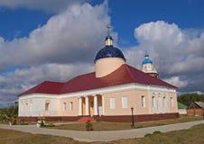 baturinsky trapeznaja скита церков Стоковые Изображения RF