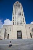 batuty capitol Louisiana szminki stan zdjęcie stock