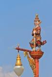 batuty gigantycznych słupów statywowa statua Obraz Royalty Free