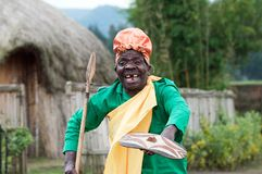 Batwa Stock Photo