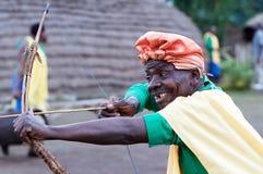 Batwa hunter Royalty Free Stock Images