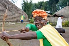 Batwa hunter Stock Photos