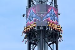 Batwing Spaceshot in Movie World Gold Coast Queensland Australia Royalty Free Stock Photos