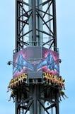 Batwing Spaceshot in Movie World Gold Coast Queensland Australia Stock Image
