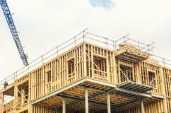 Bau auf Neubau Lizenzfreies Stockbild
