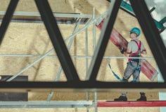 Bau-Bauger?st-Job lizenzfreie stockfotografie