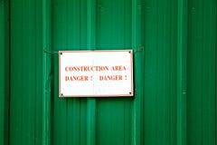 Bau-Bereich lizenzfreies stockbild