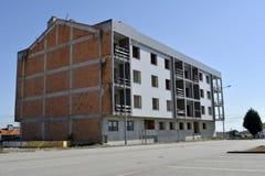 Bau Construção Abandonada_Abandoned Stockbild