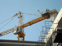 Bau Crane Tower Lizenzfreie Stockbilder