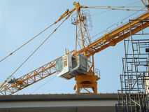 Bau Crane Tower Lizenzfreie Stockfotografie