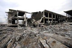 Bau-Demolierung stockfotos