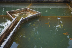 Bau der Entwässerungswasserfiltration Lizenzfreie Stockbilder