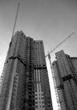Bau der Wohngebäude Lizenzfreies Stockbild