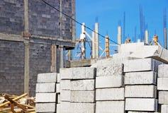 Bau der Wohnung im Vorort Stockfoto