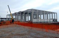 Bau des Gebäudes in Sofia, Bulgarien am 24. November 2014 Stockbilder
