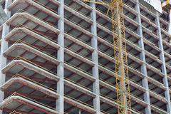 Bau des Hauses Stockbilder