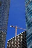 Bau des Neubaus Lizenzfreies Stockbild