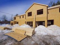 Bau des neuen Hauses Stockbilder