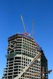 Bau des Turmgebäudes Lizenzfreies Stockfoto