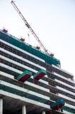 Bau eines Gebäudes in Delhi Lizenzfreie Stockfotografie