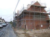 Bau eines Hauses Stockfotos
