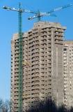 Bau eines Hauses Lizenzfreie Stockfotografie