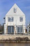 Bau eines Hauses stockfoto