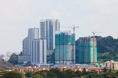 Bau-Gebäude Stockbild