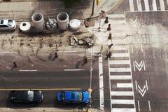Bau im Stadtzentrum gelegen stockfotos