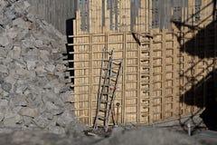 Bau laufend Lizenzfreies Stockfoto