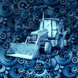 Bau-Maschinen-Ausrüstung Stockfoto